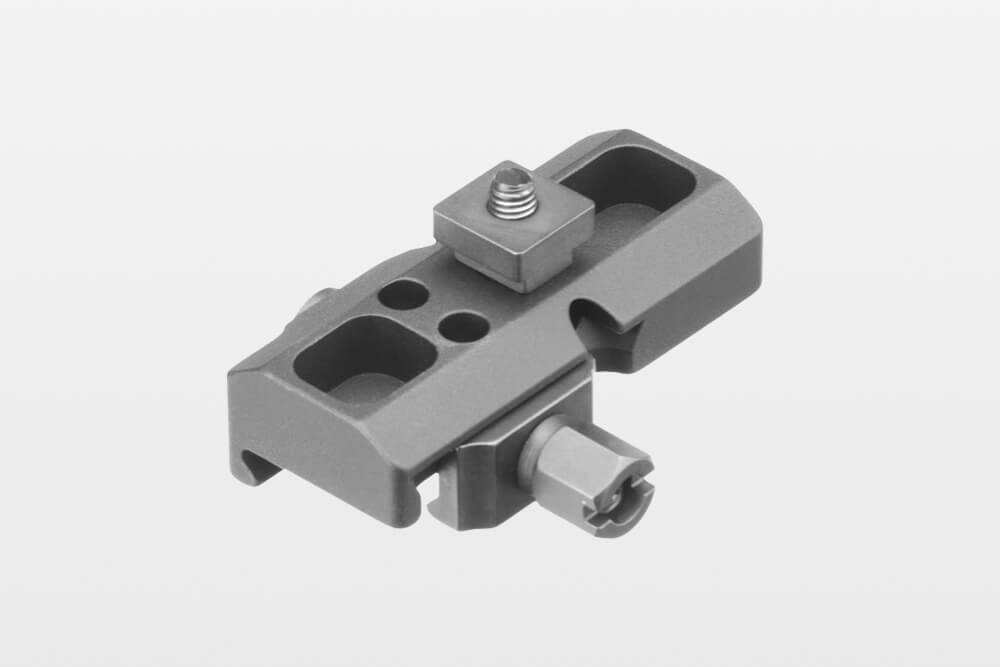ERATAC - Tactical Mounts adapter_mit_nutstein_mit_mutter Adapter für Harris-Zweibein