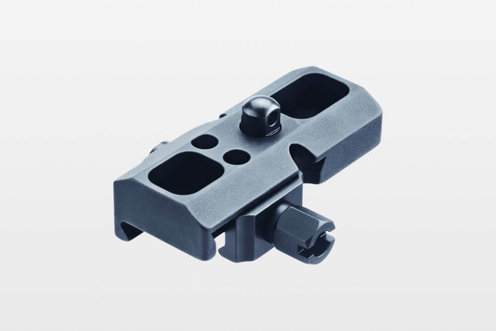 ERATAC - Tactical Mounts adapter_mit_riemenbuegelkopf_mit_mutter Adapter für Harris-Zweibein