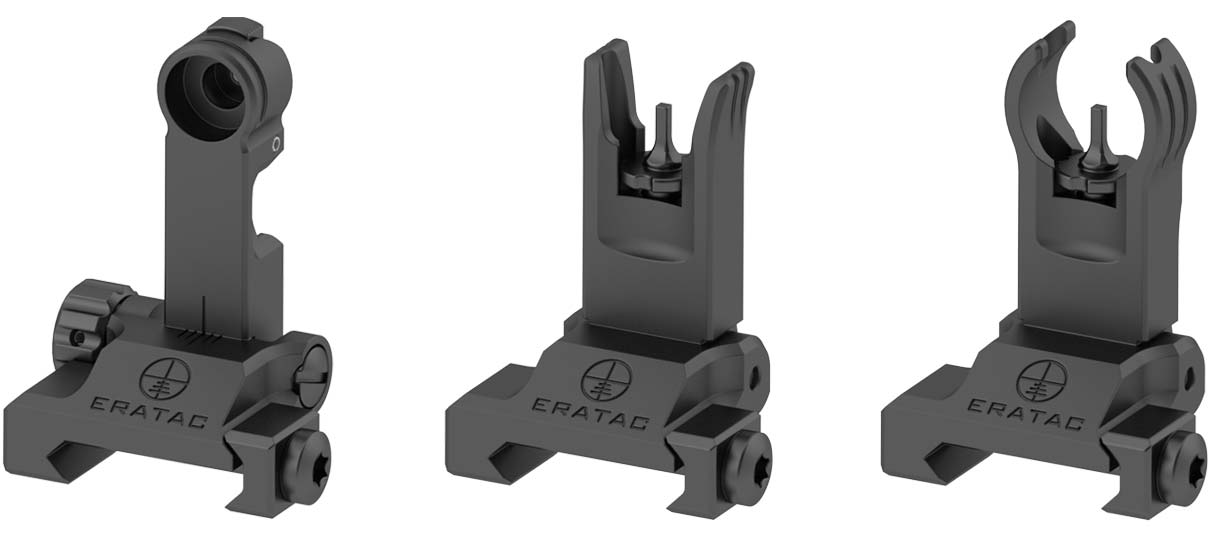 eratac notvisierung-kollage Backup Sight for Picatinny-Rail