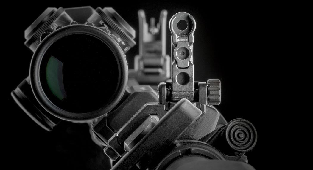 ERATAC - Tactical Mounts offset-visierung-montiert Offset-Visierung