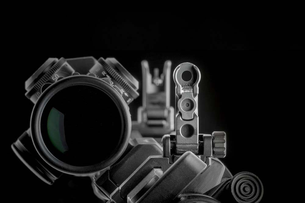 ERATAC - Tactical Mounts offset-visierung_bereich_uebersicht Zubehör für Waffen mit Picatinny-Schienen